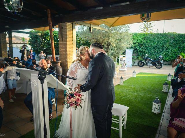 La boda de Óscar  y Alba en Chiclana De La Frontera, Cádiz 3