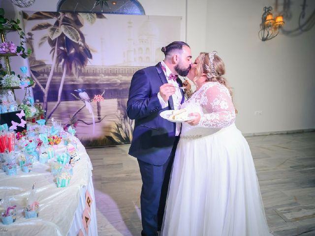 La boda de Óscar  y Alba en Chiclana De La Frontera, Cádiz 5