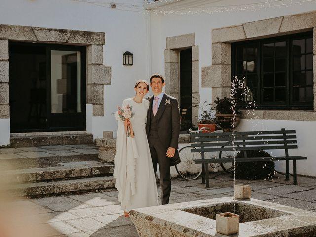 La boda de Alberto y Cristina en Torrelodones, Madrid 2