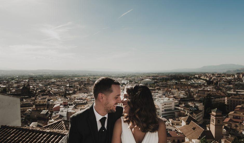 La boda de Quino y Elisabeth  en Granada, Granada
