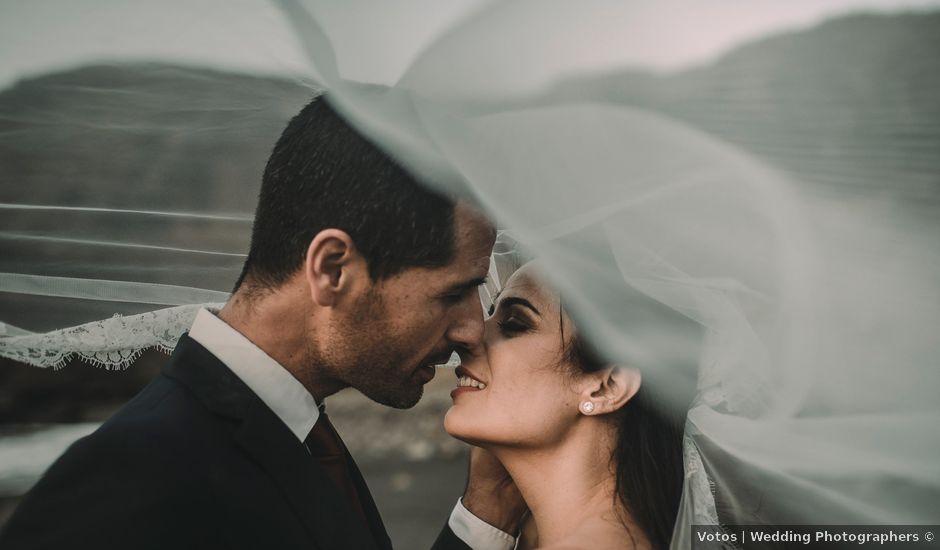 La boda de Pedro y Idoia en Arucas, Las Palmas