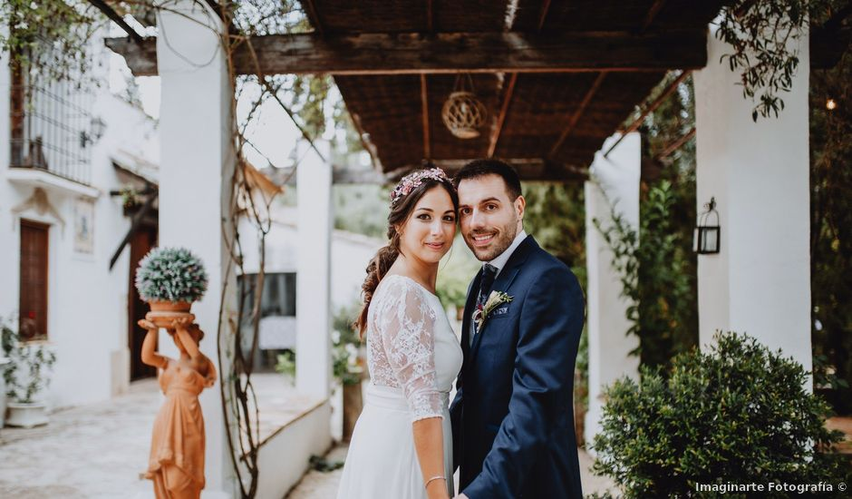 La boda de Santi y Sheila en Aielo De Malferit, Valencia