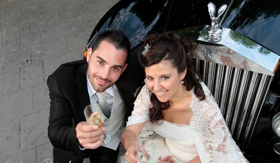 La boda de Ester y Jonathan en Huarte-pamplona, Navarra