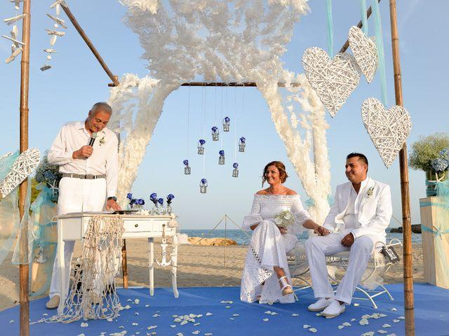 La boda de Jose y Pili en L' Ametlla De Mar, Tarragona 1