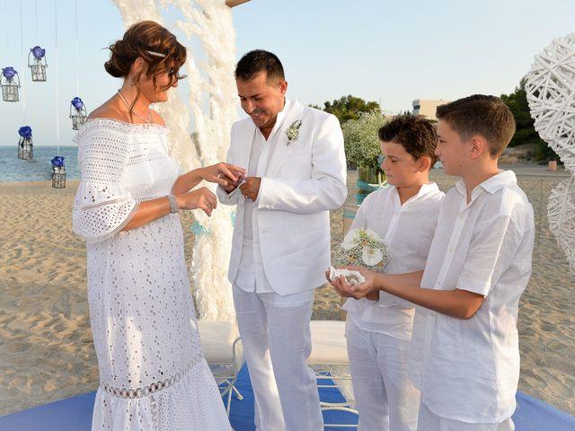 La boda de Jose y Pili en L' Ametlla De Mar, Tarragona 13