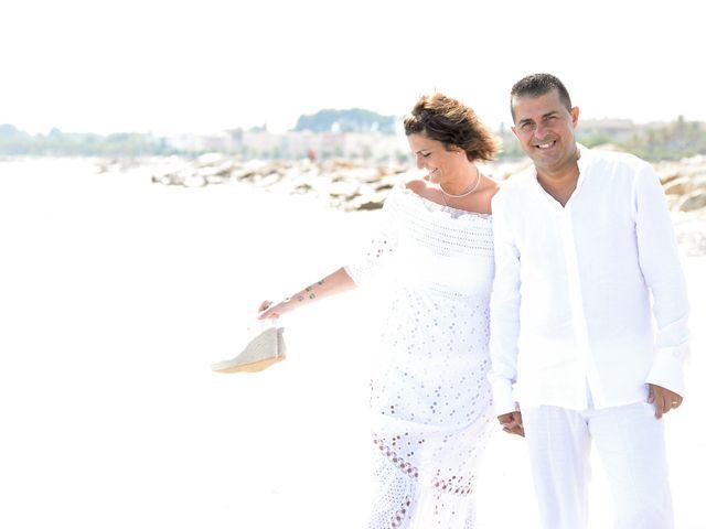 La boda de Jose y Pili en L' Ametlla De Mar, Tarragona 17