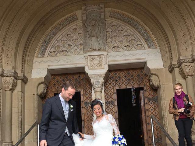 La boda de Israel y Martha en Javier, Navarra 1