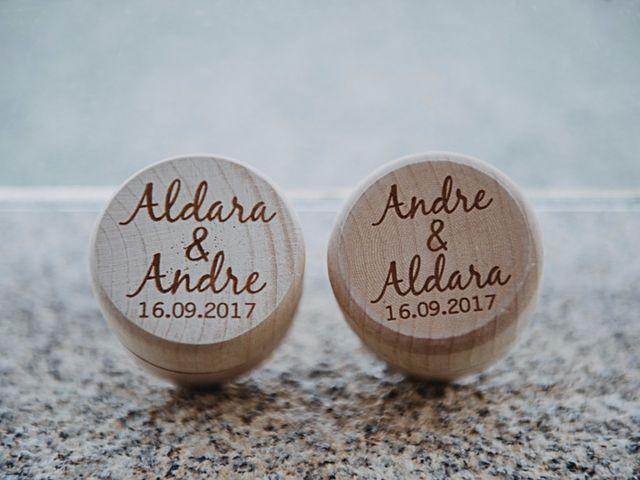 La boda de André y Aldara en Vigo, Pontevedra 14