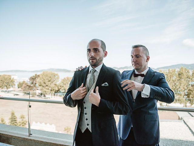 La boda de André y Aldara en Vigo, Pontevedra 25