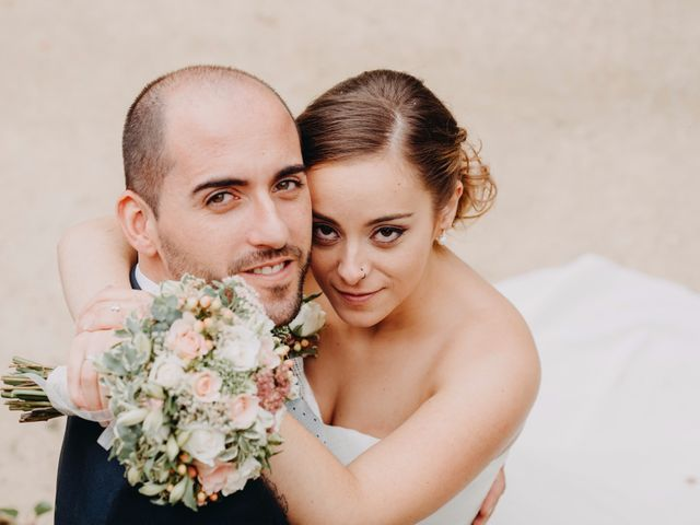 La boda de Aldara y André