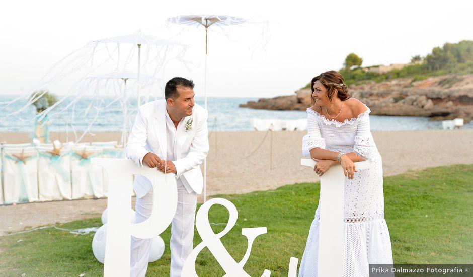 La boda de Jose y Pili en L' Ametlla De Mar, Tarragona