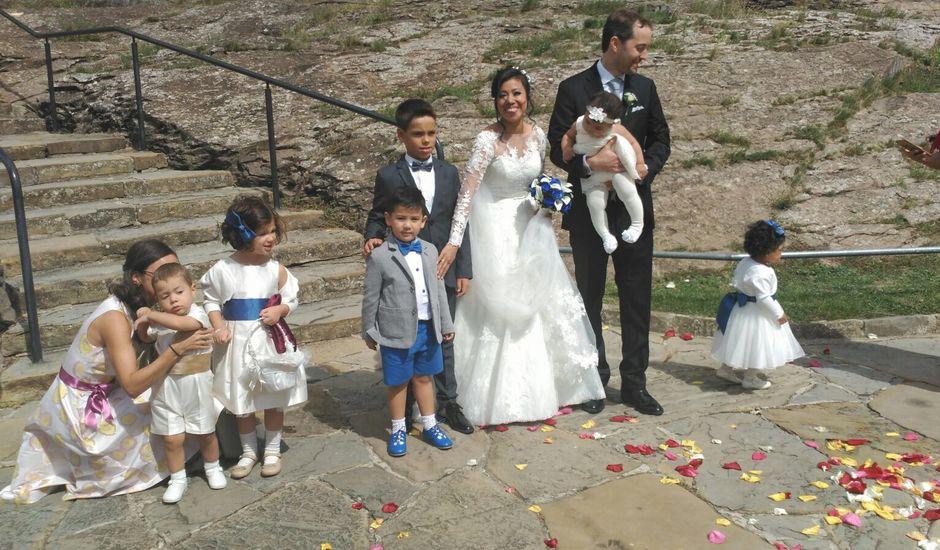 La boda de Israel y Martha en Javier, Navarra