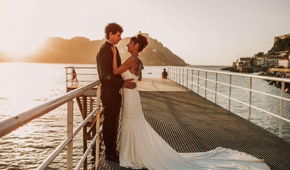 La boda de Pedro y Ainhoa en Donostia-San Sebastián, Guipúzcoa
