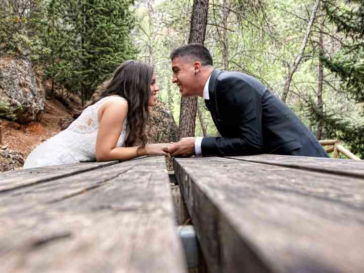 La boda de Paqui y Manuel