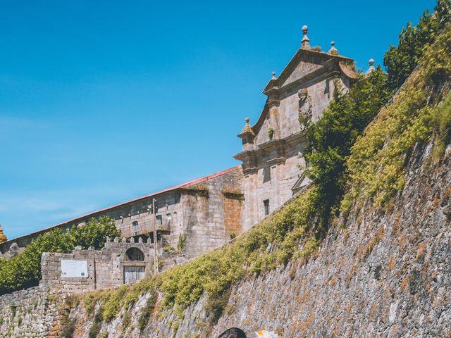 La boda de David y Vanesa en Oia (Santa Maria De ), Pontevedra 27