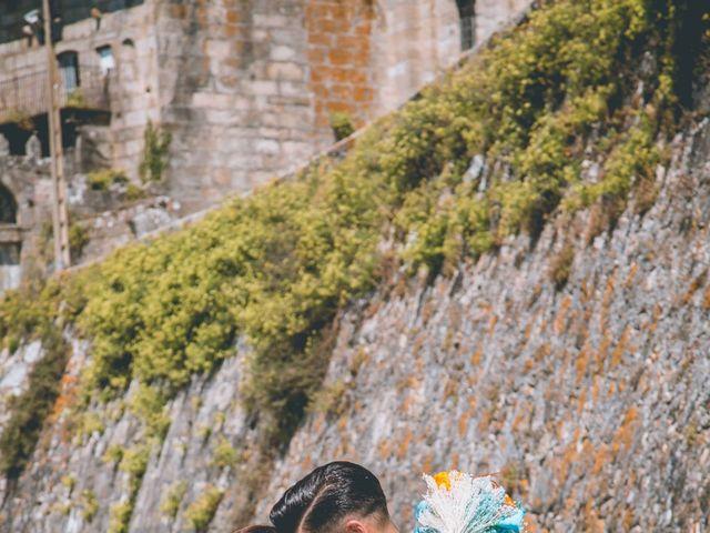 La boda de David y Vanesa en Oia (Santa Maria De ), Pontevedra 28