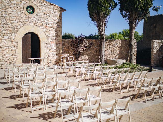 La boda de Edu y Raquel en La Riera De Gaia, Tarragona 2
