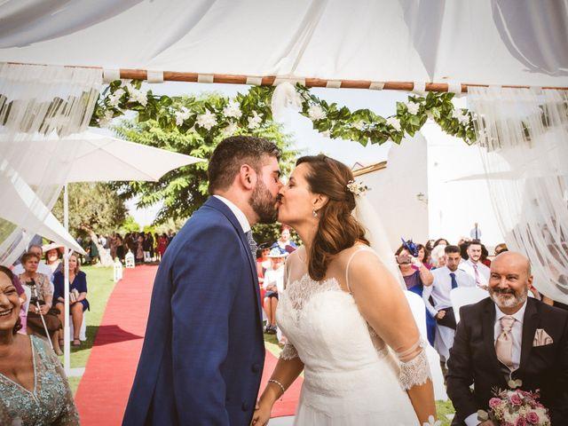 La boda de M. José y Manolo