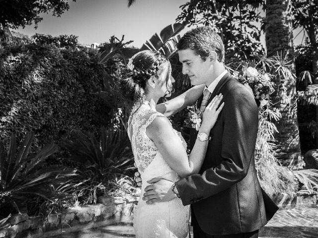 La boda de Rosario y Jacob en Rioja, Almería 1