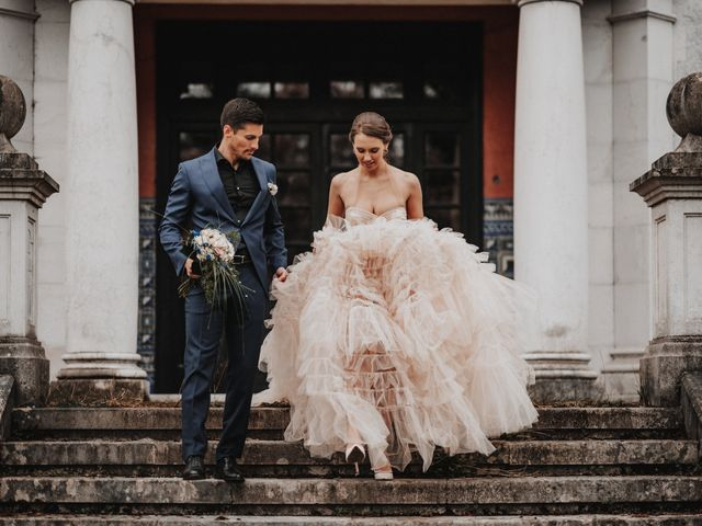 La boda de Lucy y Enol en Otero (Piloña), Asturias 36