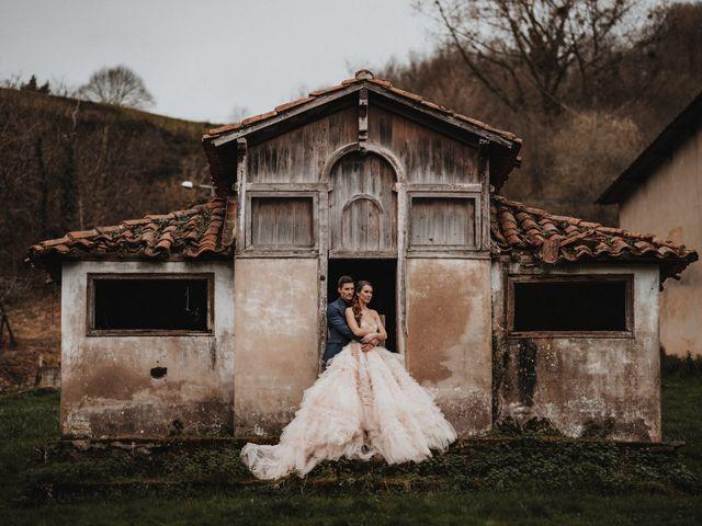 La boda de Lucy y Enol en Otero (Piloña), Asturias 67