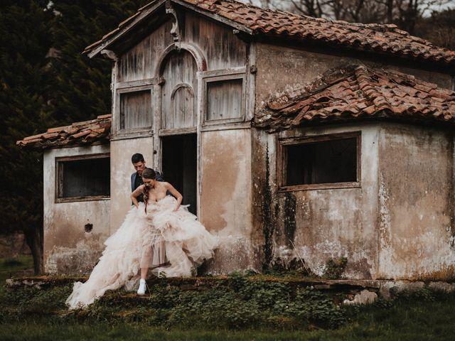 La boda de Lucy y Enol en Otero (Piloña), Asturias 70