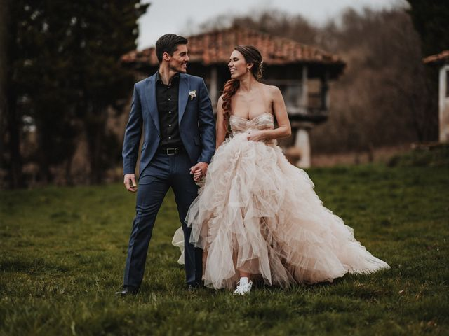 La boda de Lucy y Enol en Otero (Piloña), Asturias 72