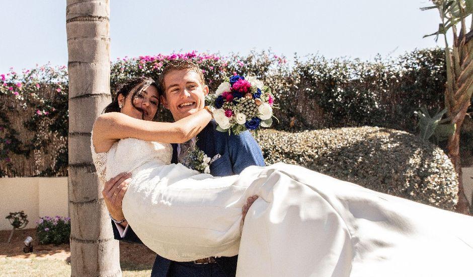 La boda de Rosario y Jacob en Rioja, Almería