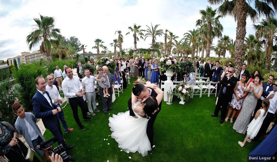 La boda de Javier y Esther en La Pineda, Tarragona