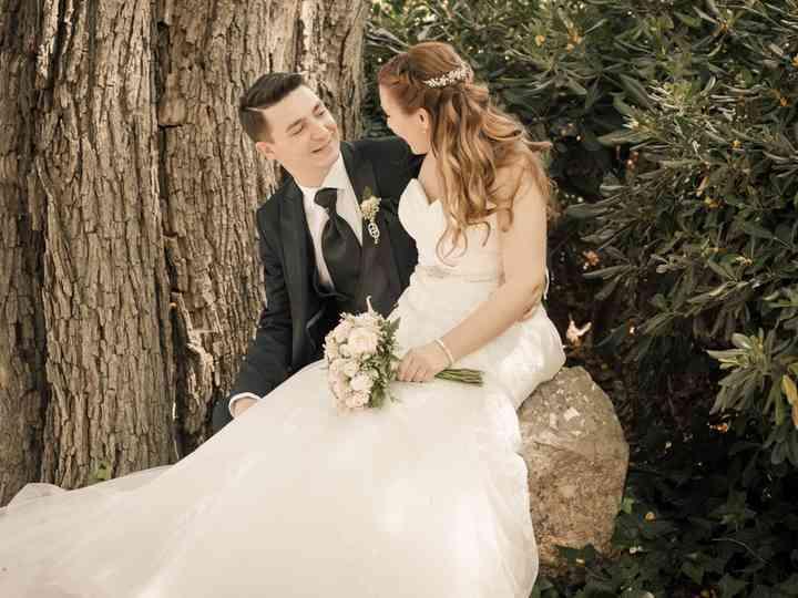 La boda de Rocío y Markel