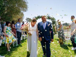 La boda de Rosa y Toni