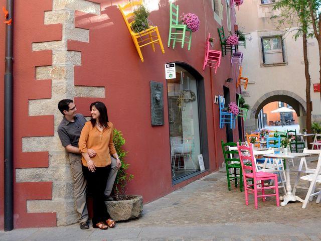 La boda de Fran y Annabel en Torroella De Montgri, Girona 8