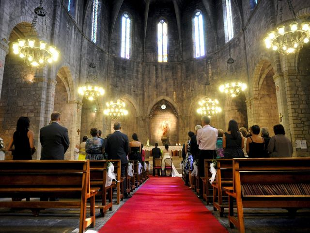La boda de Fran y Annabel en Torroella De Montgri, Girona 18