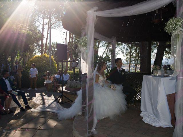 La boda de Cristian y Lidia en Llinars Del Valles, Barcelona 42