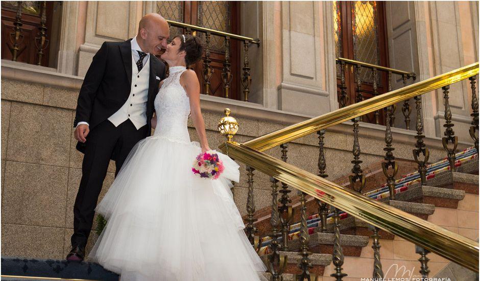 La boda de David y Laura en A Coruña, A Coruña