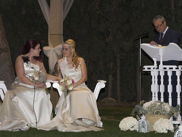 La boda de Bea y Sara en Pedrola, Zaragoza 26