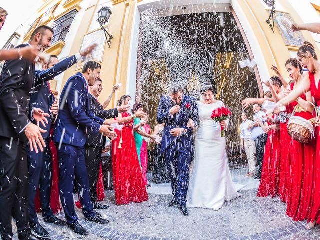 La boda de Pedro y Rocío en Sevilla, Sevilla 75