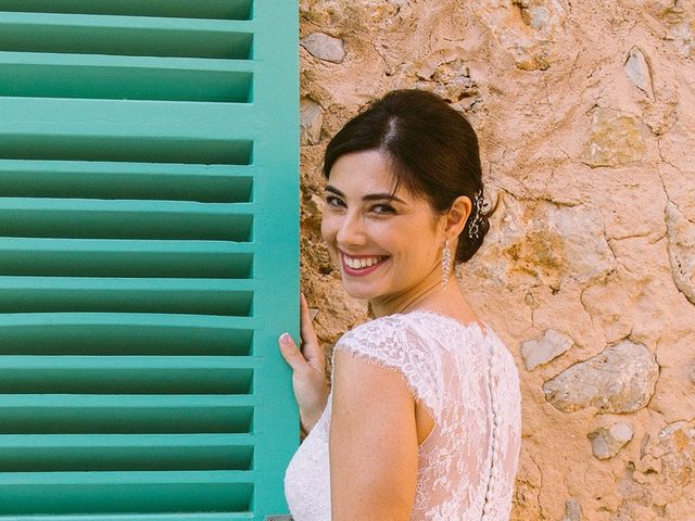 La boda de David y Lydia en Binissalem, Islas Baleares 16