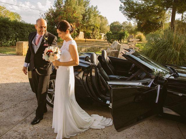 La boda de David y Lydia en Binissalem, Islas Baleares 41
