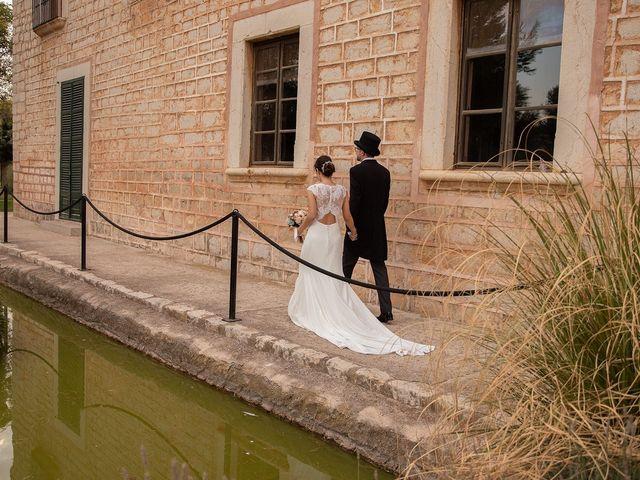 La boda de David y Lydia en Binissalem, Islas Baleares 54