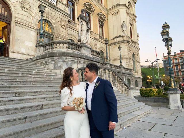 La boda de Moises y Amaranta  en Bilbao, Vizcaya 3