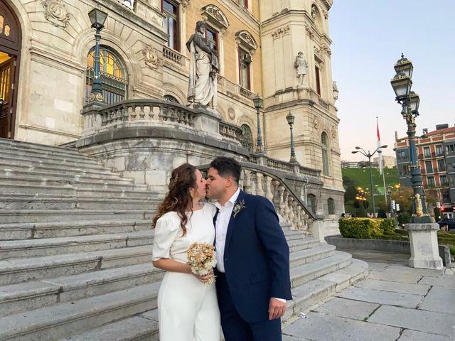 La boda de Moises y Amaranta  en Bilbao, Vizcaya 11