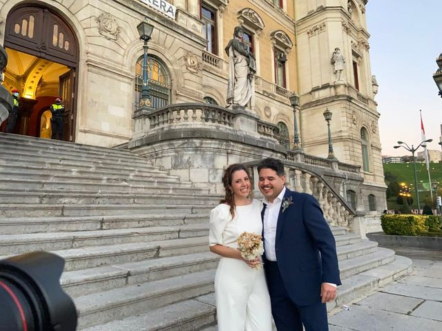 La boda de Moises y Amaranta  en Bilbao, Vizcaya 12
