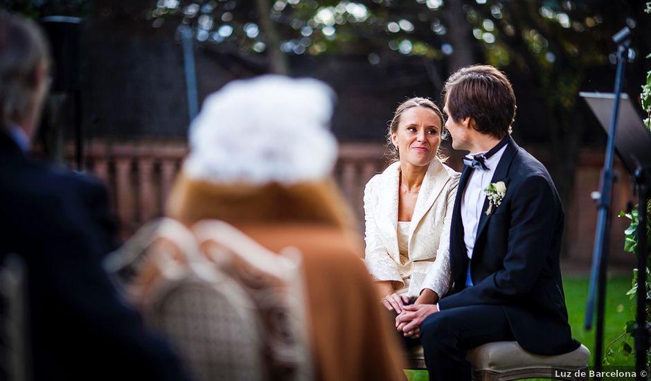 La boda de Juan Pablo y Patricia en Sant Cugat Del Valles, Barcelona