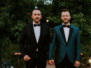 La boda de Fernando y Arturo