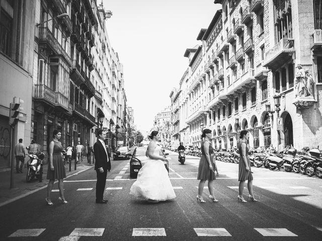 La boda de Terrel y Meghan en Sant Feliu De Codines, Barcelona 21