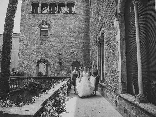 La boda de Terrel y Meghan en Sant Feliu De Codines, Barcelona 31