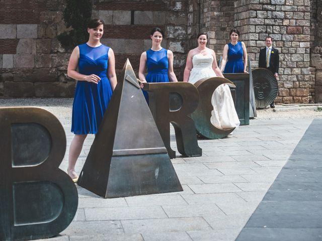 La boda de Terrel y Meghan en Sant Feliu De Codines, Barcelona 32