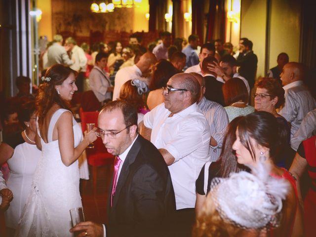 La boda de Alberto y Patricia en Hervas, Cáceres 33