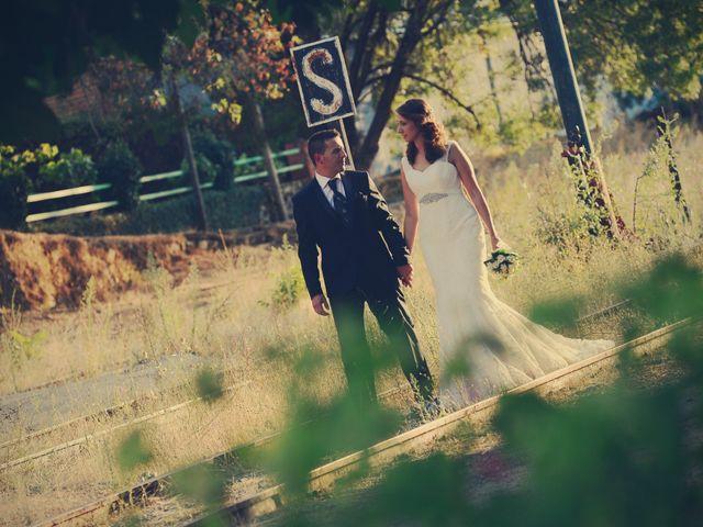 La boda de Alberto y Patricia en Hervas, Cáceres 22